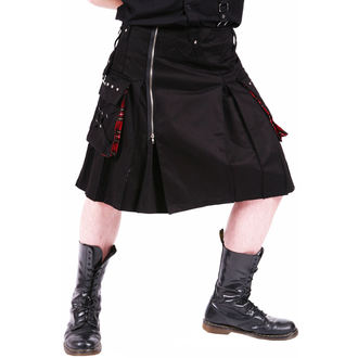 kilt pánský DEAD THREADS - Black