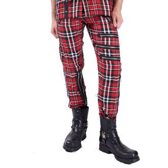 kalhoty pánské DEAD THREADS - Red - TT9460