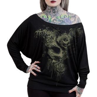 tričko dámské s dlouhým rukávem HYRAW - Death, HYRAW