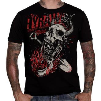 tričko pánské HYRAW - Grave - HY099