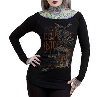 tričko dámské s dlouhým rukávem HYRAW - Darkness