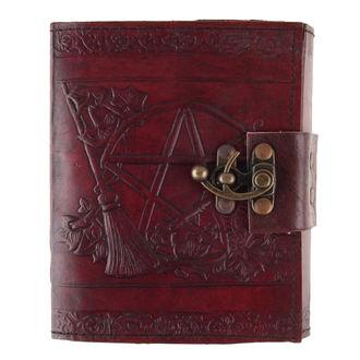 poznámkový blok Pentagram Leather Emboss Journal - D1021C4