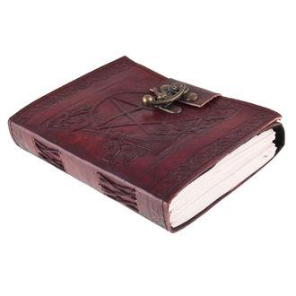 poznámkový blok Pentagram Leather Emboss Journal