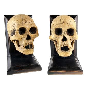 zarážka na knihy Skulls