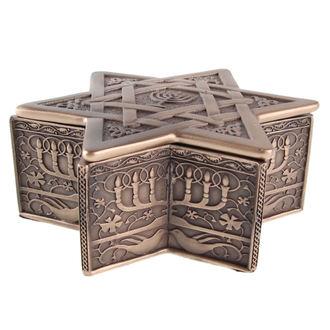 krabička (dekorace) Star of David & Menorah