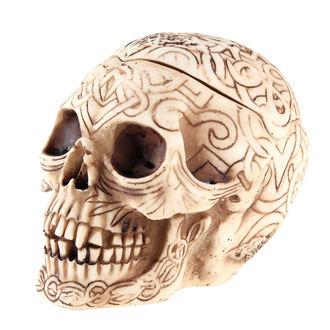 dekorace (krabička) Celtic Skull - NEM2017