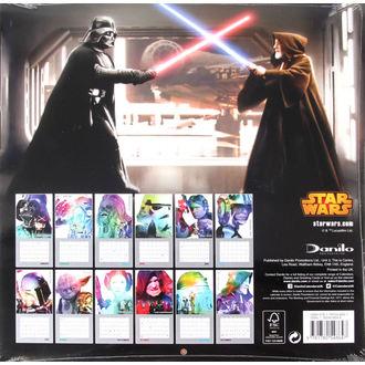 kalendář na rok 2016 - Star Wars