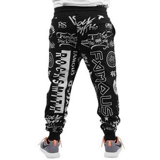 kalhoty pánské (tepláky) FAMOUS STARS & STRAPS - Raising Hell - Black
