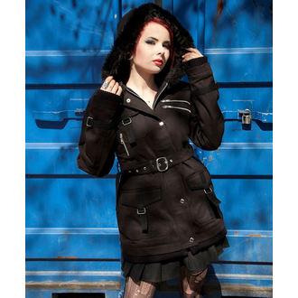 kabát dámský POIZEN INDUSTRIES - Rize - Black, POIZEN INDUSTRIES