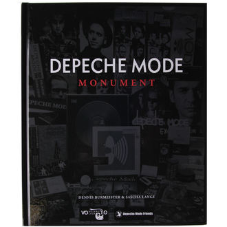 kniha Depeche Mode - Monument, Depeche Mode