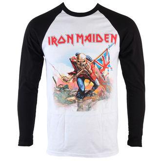 tričko pánské s dlouhým rukávem Iron Maiden - Trooper - ROCK OFF, ROCK OFF, Iron Maiden