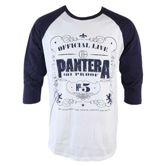 tričko pánské s 3/4 rukávem Pantera - 101 Proof - ROCK OFF - PANTBS01WBL