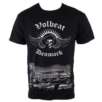 tričko pánské Volbeat - Graveyard -  ROCK OFF, ROCK OFF, Volbeat