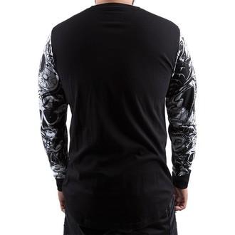 tričko pánské s dlouhým rukávem FAMOUS STARS & STRAPS - Mash Up - Black