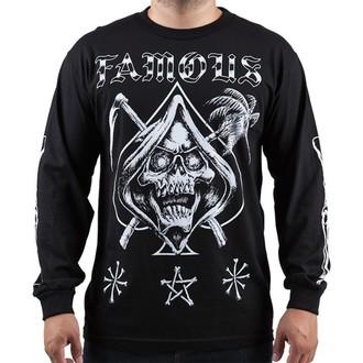 tričko pánské s dlouhým rukávem FAMOUS STARS & STRAPS - Relax Reaper - Black