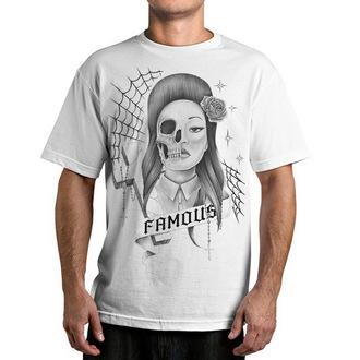 tričko pánské FAMOUS STARS & STRAPS - Sinister - White