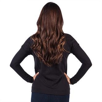 tričko dámské s dlouhým rukávem FAMOUS STARS & STRAPS - New Life - Black, FAMOUS STARS & STRAPS