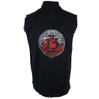 košile pánská bez rukávů (vesta) Black Sabbath - 13 Circular - RAZAMATAZ, RAZAMATAZ, Black Sabbath