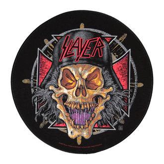 nášivka velká Slayer - Wehrmacht Circular - RAZAMATAZ, RAZAMATAZ, Slayer