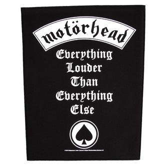 nášivka velká Motörhead - Everything Louder - RAZAMATAZ, RAZAMATAZ, Motörhead