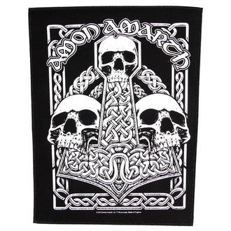 nášivka velká Amon Amarth - Three Skulls - RAZAMATAZ, RAZAMATAZ, Amon Amarth