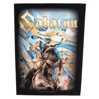 nášivka velká Sabaton - Carolus Rex - RAZAMATAZ, RAZAMATAZ, Sabaton