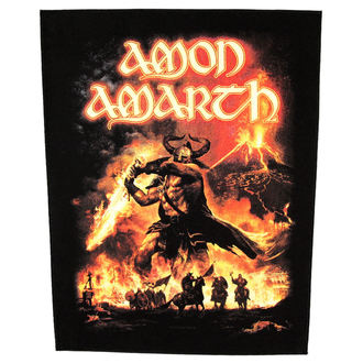 nášivka velká Amon Amarth - Surtur Rising - RAZAMATAZ, RAZAMATAZ, Amon Amarth