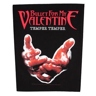 nášivka velká Bullet For my Valentine - Temper Temper - RAZAMATAZ, RAZAMATAZ, Bullet For my Valentine