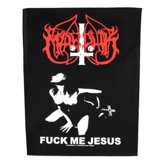 nášivka velká Marduk - Fuck Me Jesus - RAZAMATAZ, RAZAMATAZ, Marduk