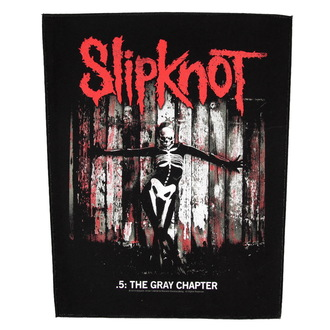 nášivka velká Slipknot - The Gray Chapter - RAZAMATAZ, RAZAMATAZ, Slipknot