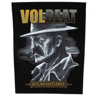 nášivka velká Volbeat - Outlaw Gentlemen - RAZAMATAZ, RAZAMATAZ, Volbeat