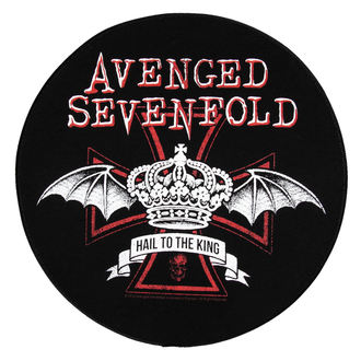 nášivka velká Avenged Sevenfold - Red Crown - RAZAMATAZ, RAZAMATAZ, Avenged Sevenfold