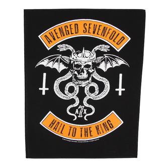 nášivka velká Avenged Sevenfold - Biker - RAZAMATAZ, RAZAMATAZ, Avenged Sevenfold