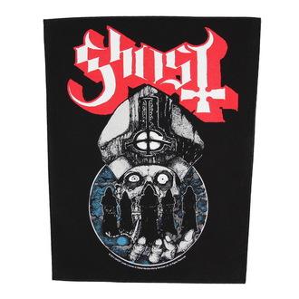 nášivka velká Ghost - Papa Warriors - RAZAMATAZ, RAZAMATAZ, Ghost