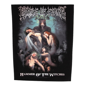 nášivka velká Cradle of Filth - Hammer Of The Witches - RAZAMATAZ, RAZAMATAZ, Cradle of Filth