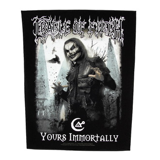 nášivka velká Cradle of Filth - Yours Immortally - RAZAMATAZ, RAZAMATAZ, Cradle of Filth