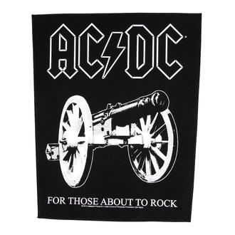 nášivka velká AC/DC - For Those About To Rock - RAZAMATAZ - BP1013