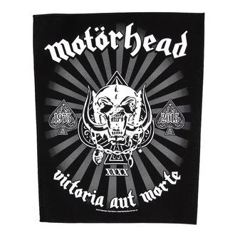 nášivka velká Motörhead - Victoria Aut Morte 1975-2015 - RAZAMATAZ, RAZAMATAZ, Motörhead