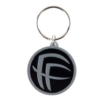 klíčenka (přívěšek) Fear Factory - Logo - RAZAMATAZ, RAZAMATAZ, Fear Factory