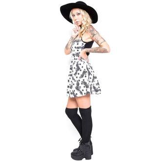 šaty dámské IRON FIST - Nocturnal - White, IRON FIST