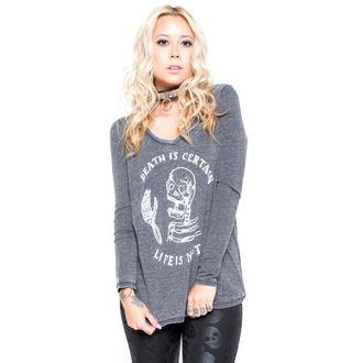 tričko dámské s dlouhým rukávem IRON FIST - Certain Death - Black, IRON FIST
