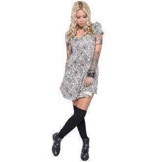 šaty dámské IRON FIST - Black Widow Babydoll - Black - IF003606