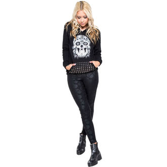kalhoty dámské (legíny) IRON FIST - Skullz Club - Black - IF003713