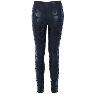 kalhoty dámské (legíny) IRON FIST - Skullz Club - Black