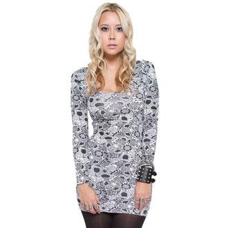 šaty dámské IRON FIST - Sugar Coma - White - IF003679