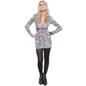 šaty dámské IRON FIST - Sugar Coma - White, IRON FIST
