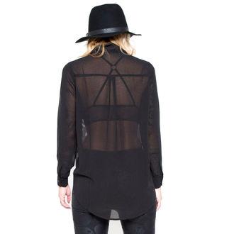 košile dámská IRON FIST - Conjoined - Black - IF003601