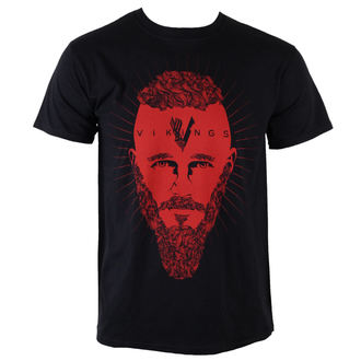 tričko pánské Vikingové - Ragnar Face - PLASTIC HEAD - PH9082