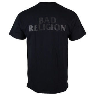 tričko pánské Bad Religion - Monochrome Crossbuster - Black - KINGS ROAD, KINGS ROAD, Bad Religion