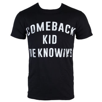 tričko pánské Comeback Kid - Die Knowing - Black - KINGS ROAD, KINGS ROAD, Comeback Kid